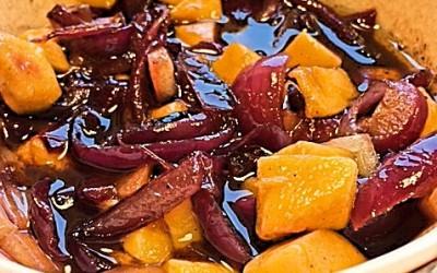 Rødløg-mango Chutney